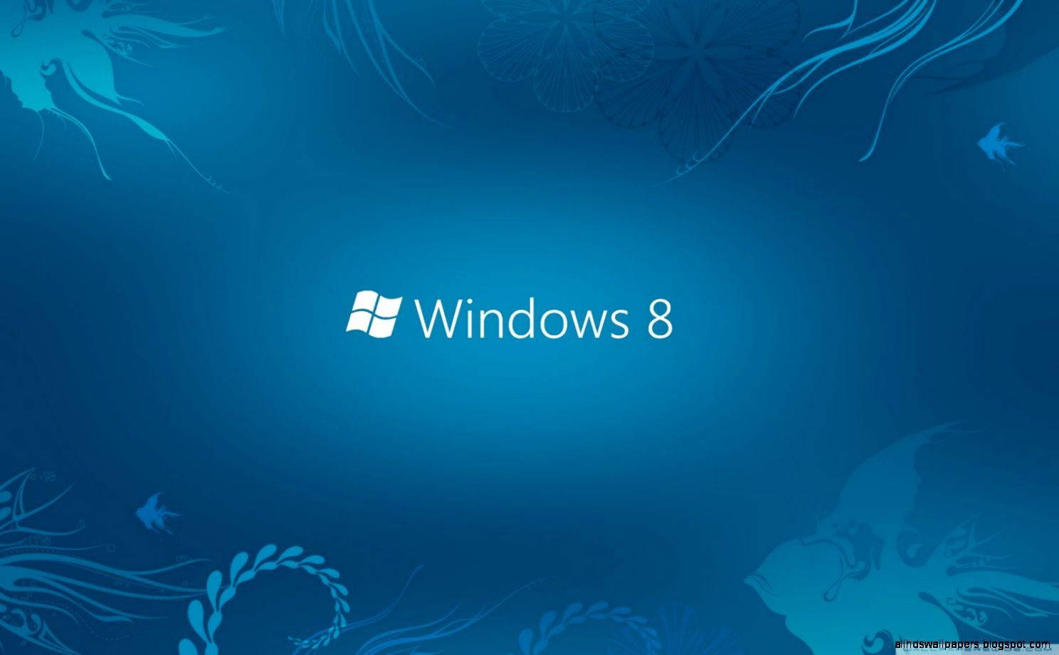 Windows 8 HD Wallpapers with Win8 Logo