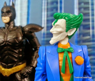 Bandai SpruKit model Level 1 DC villain The Joker close up face