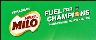 milo - CONTEST – Fuel For Champions Contest by MILO