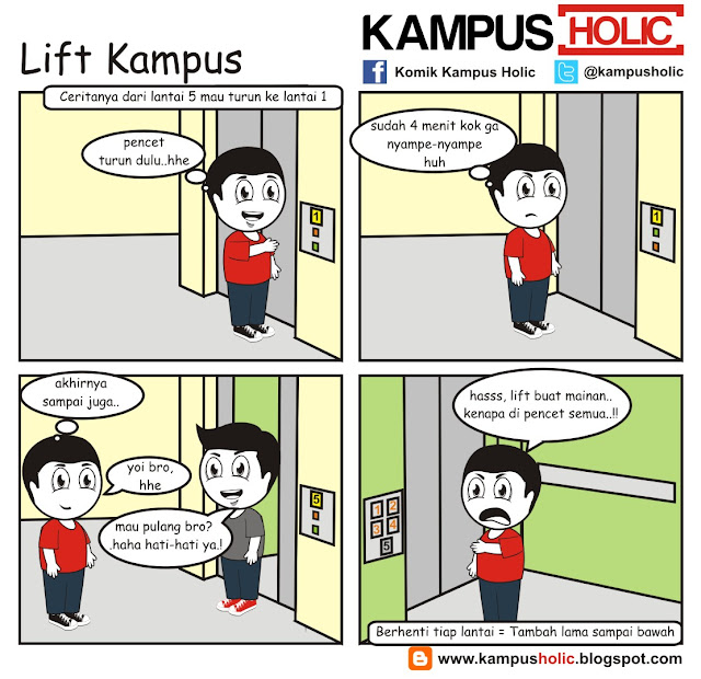 #046 Lift Kampus kampus holic