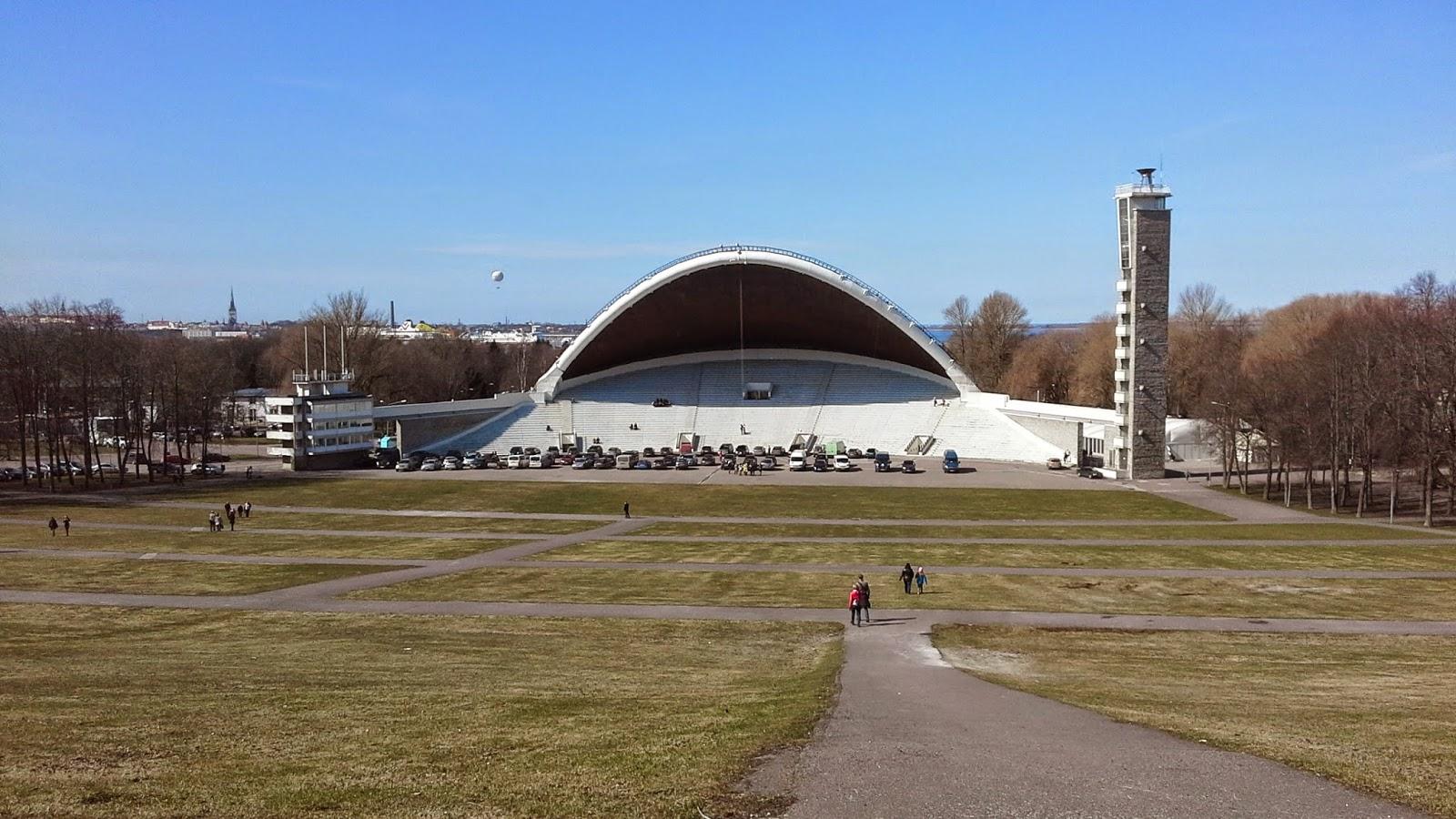 Song Festival Grounds in Tallinn - photo Robert Hugill