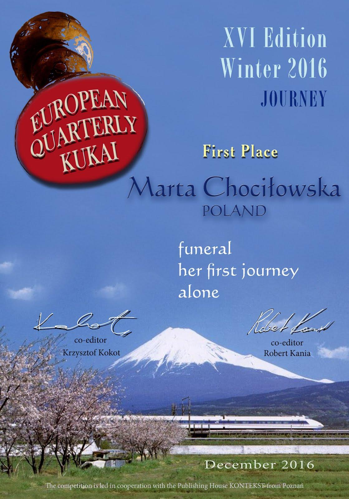 XVI European Quarterly Kukai
