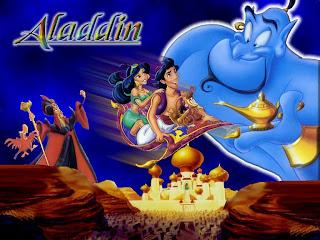 Wallpaper Aladdin Dan Jin Lampu Wasiat Ajaib