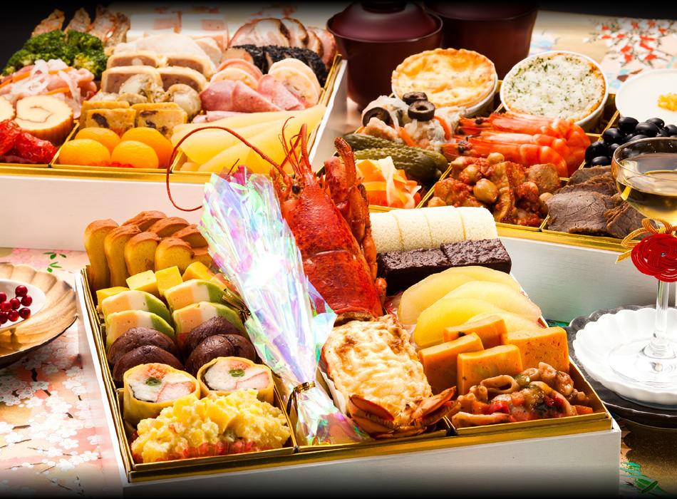 【博多久松】洋風定番3段重おせち料理『Akasaka』