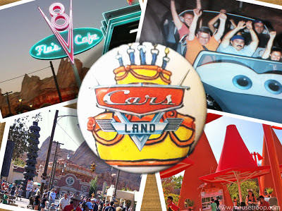 Cars Land Carsland Birthday DCA Disney California Adventure