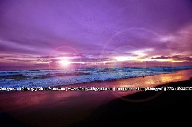 Sunset Di Pantai Depok Yogyakarta    Fotografer : Klikmg3 ( Wisnu Darmawan ) Fotografer Purwokerto    BBM : 51CB7309