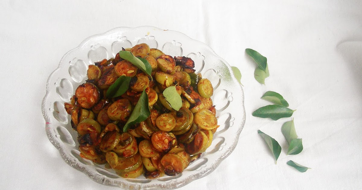Nimmy's Kitchen: Kovaikkai Upperi / Ivy Gourd Stir Fry