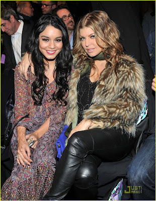 Vanessa Hudgens With Fergie