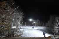 Skiing at West Mountain, Wednesday night January 16, 2013.  The Saratoga Skier and Hiker, first-hand accounts of adventures in the Adirondacks and beyond, and Gore Mountain ski blog.
