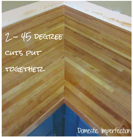 Fisherman's Wife Furniture: DIY Butcher Block Countertops