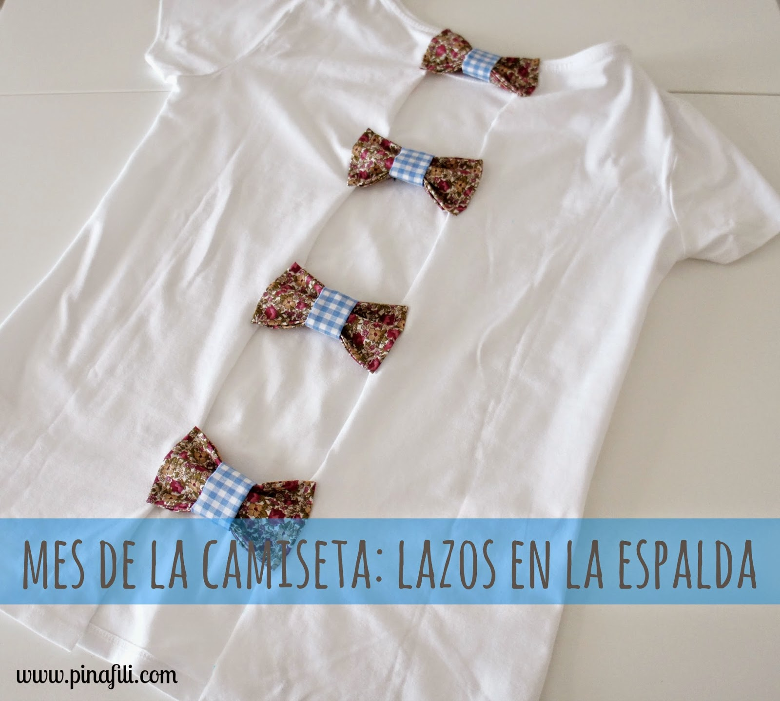 Pinafili resumen del mes de la camiseta - Decorar camisetas basicas ...