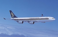 Singapore Airlines A340 500
