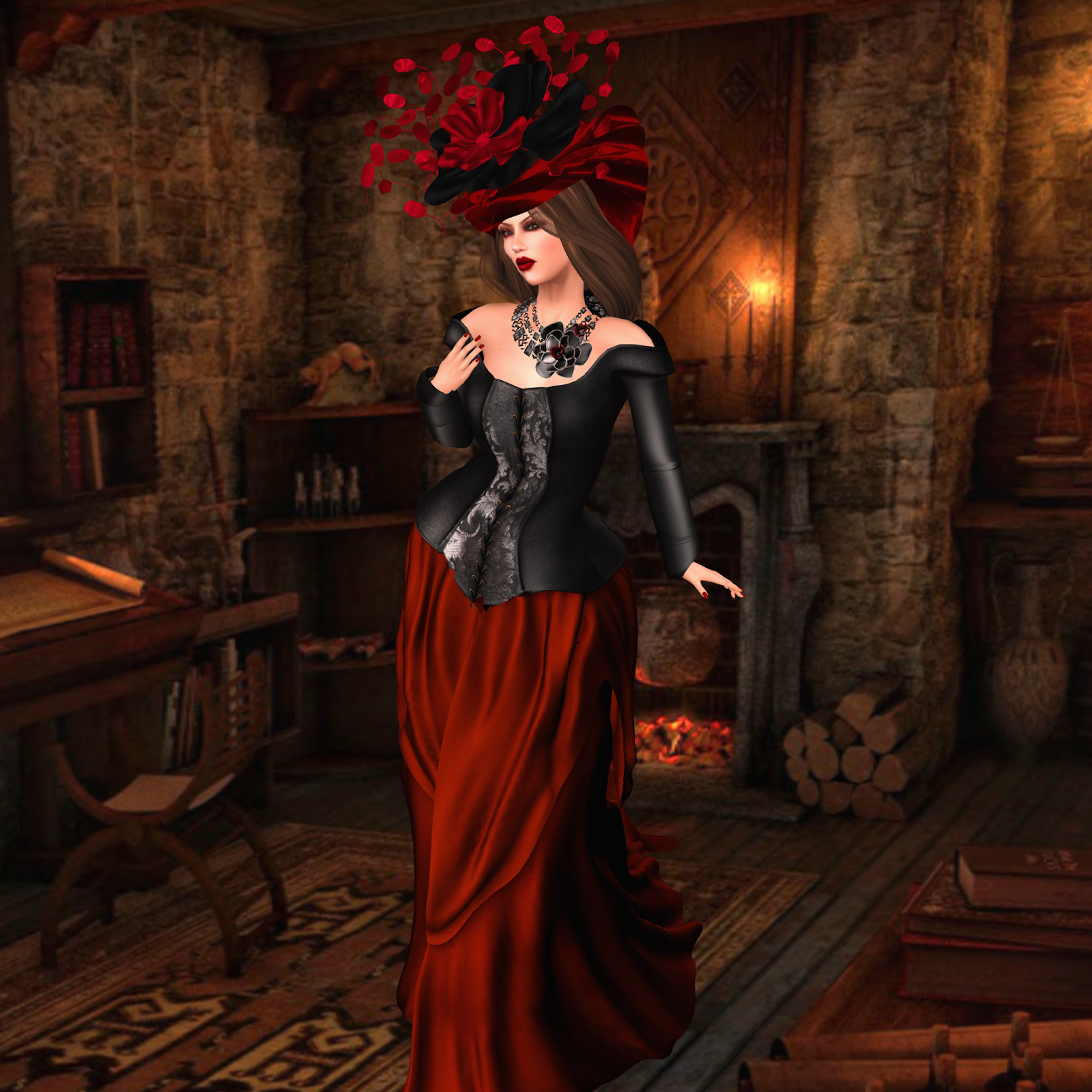 Jewelsofsl whispers in the dark featuring art in hats - Virtual diva fast and furious 4 ...
