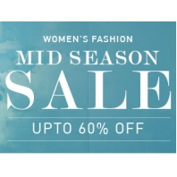 Snapdeal Mid Season Sale Offer : Women's Fashion at Upto 60% OFF : BuyToEarn