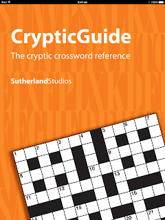 Splash screen of CrypticGuide