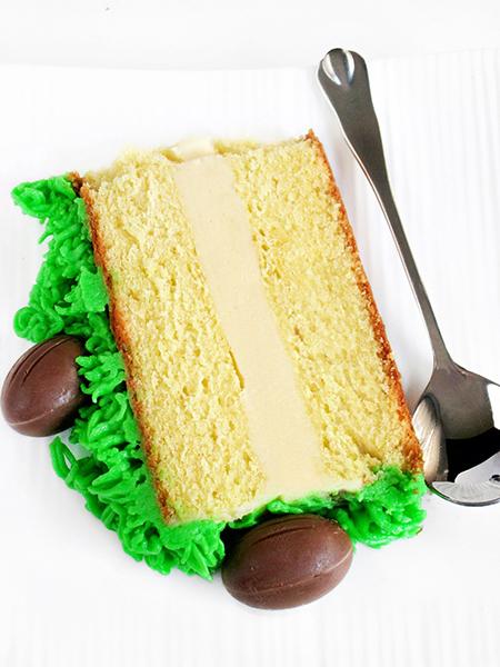 Easter white chocolate cake tinascookings.blogspot.com