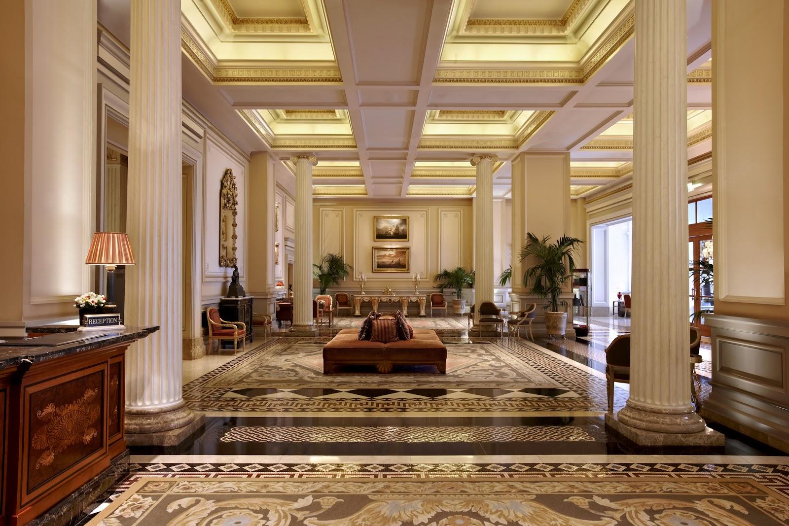 Passion for luxury hotel grande bretagne athens for Classic hotel design