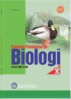 Buku Sekolah Elektronik (BSE) Biologi