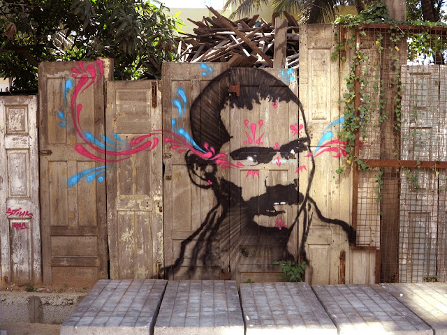 Several New Street Art Pieces By Colombian Artist Stinkfish On The Streets Of India, Cuba and Italy. 4