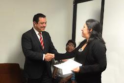 Reconocen trabajadores compromiso de Américo Zúñiga para eliminar laudos laborales