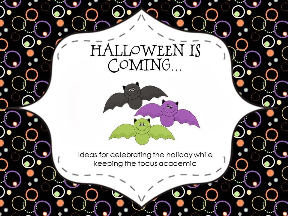 One, Two, Three: Math Time!: Halloween Is Coming...