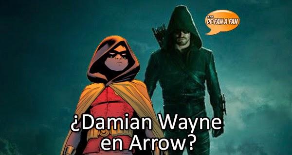¿Veremos al hijo de Batman en Arrow?