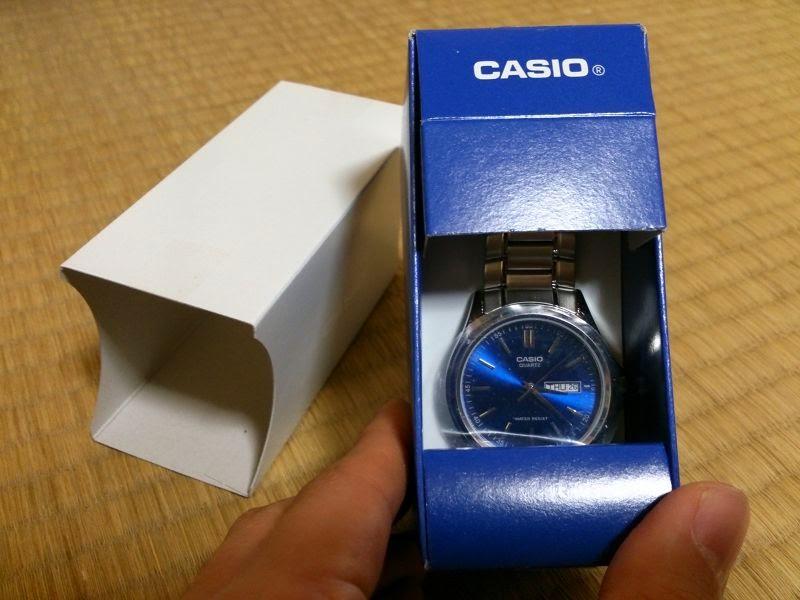 CASIO腕時計2