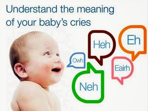 perkembangan bahasa bayi, bahasa bayi 1 bulan , Bahasa Bayi dan Artinya