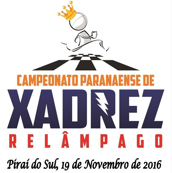 PARANAENSE DE XADREZ BLITZ 2016