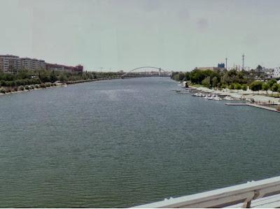 Otra vista desde el puente del Alamillo