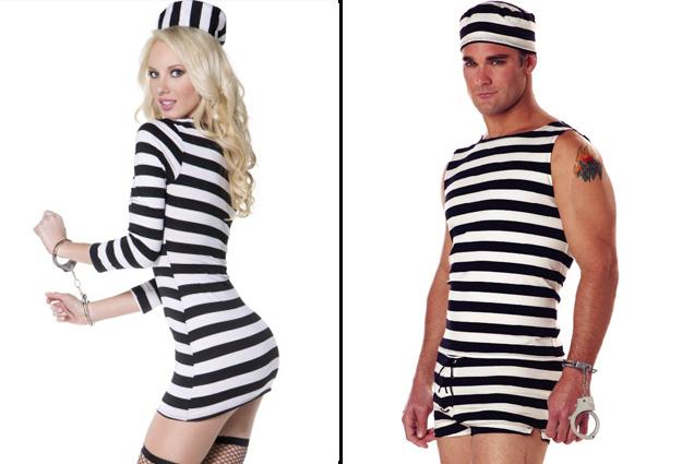 costume prisonnier homme et femme
