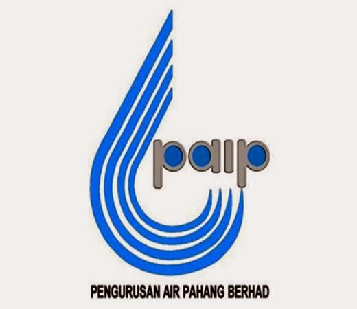 Jawatan Kosong Di Pengurusan Air Pahang Berhad PAIP