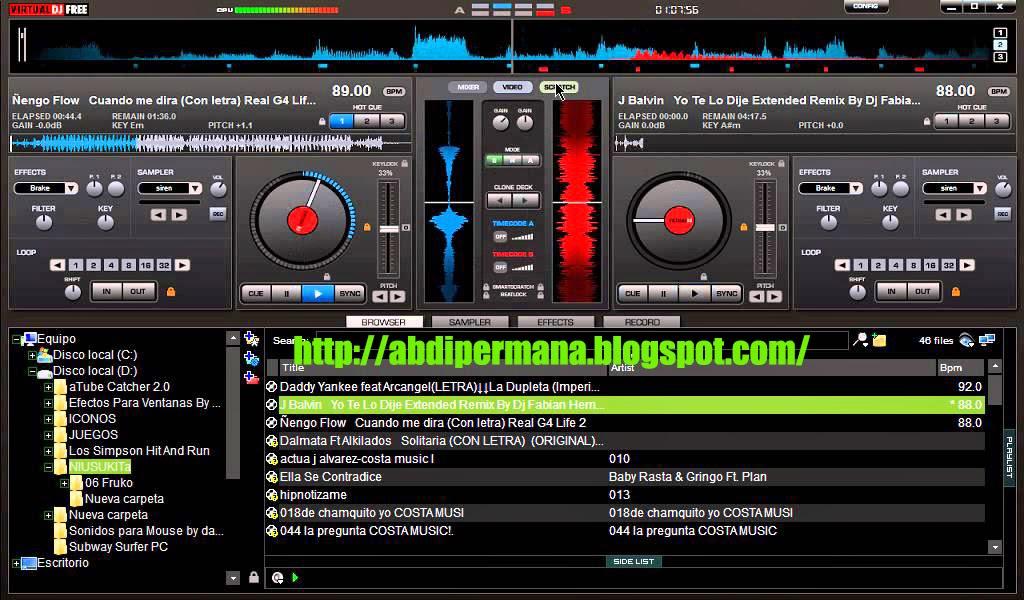 Download Virtual DJ 8.0, Terbaru 2014