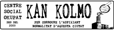 Comunicat davant l'amenaça de desallotjament del CSO Kan Kolmo