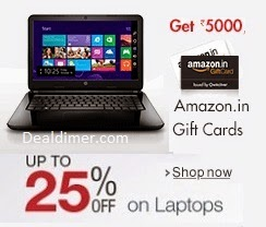 Laptops Lowest Price + Free upto Rs. 7250 Amazon Gift Cards