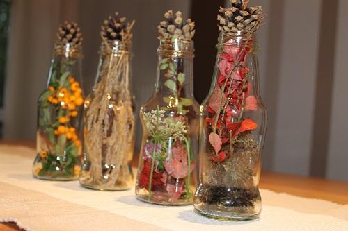 Dekoratia september 2012 - Herbstdeko fur den tisch ...