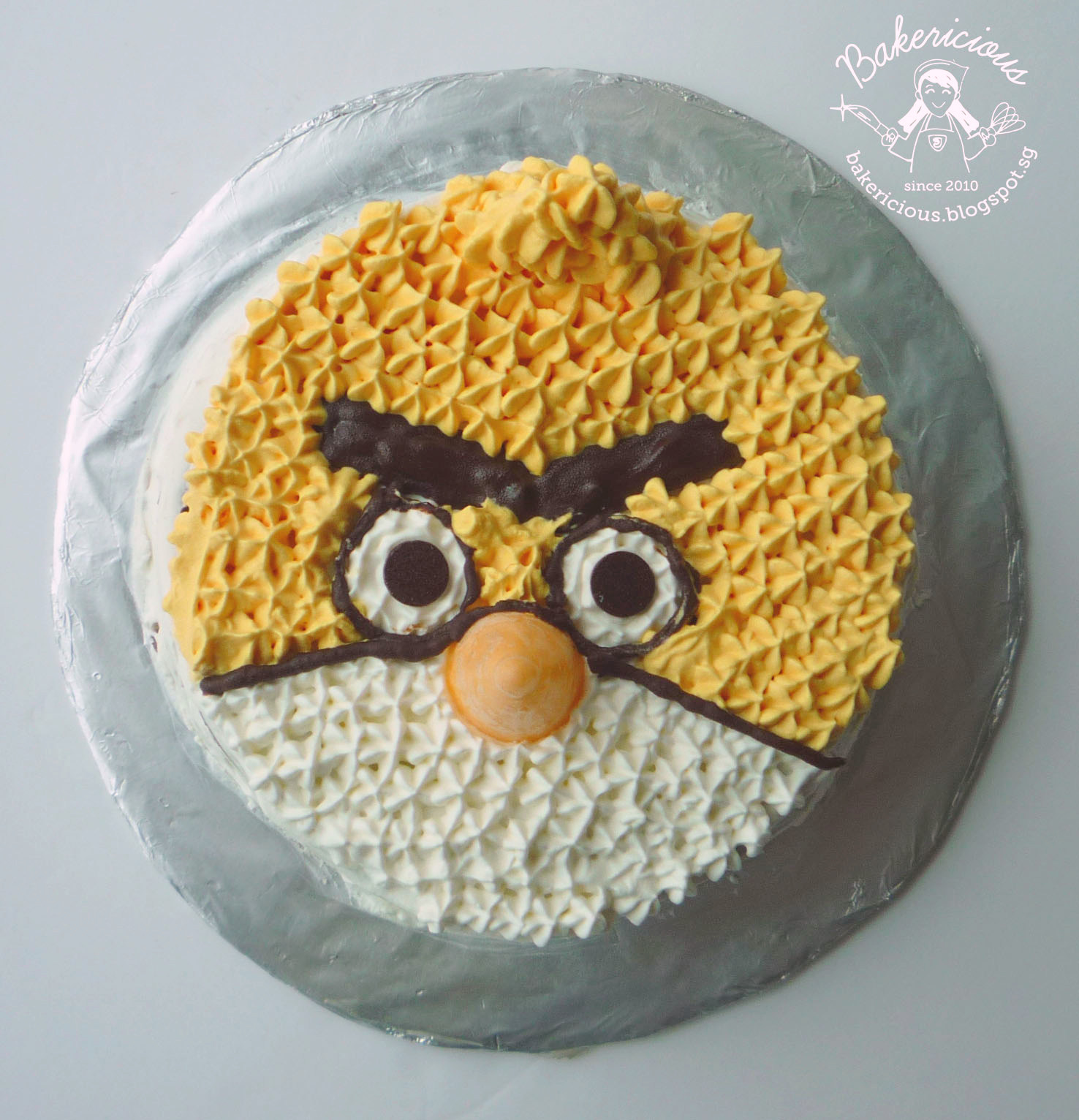 Angry Bird Chocolate Idiot Cake