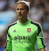 Jussi Jaaskelainen, West Ham goalkeeper