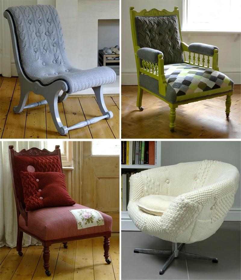 Как преобразить старое кресло