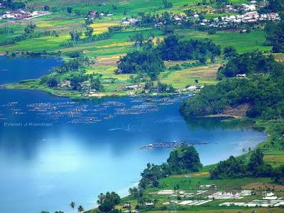 Tempat Objek Wisata Danau Maninjau Agam Sumatera Barat (Sumbar)