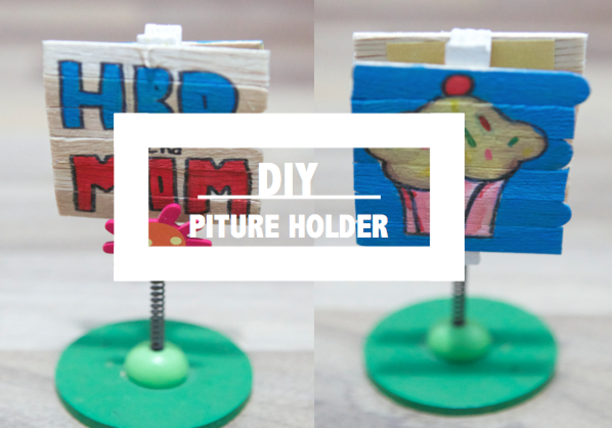 DIY Picture Holder