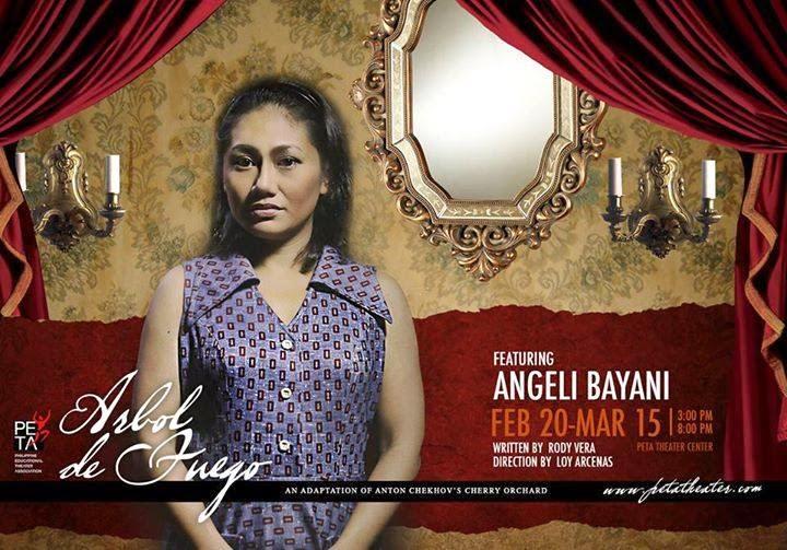 Arbol de Fuego Angelie Bayani