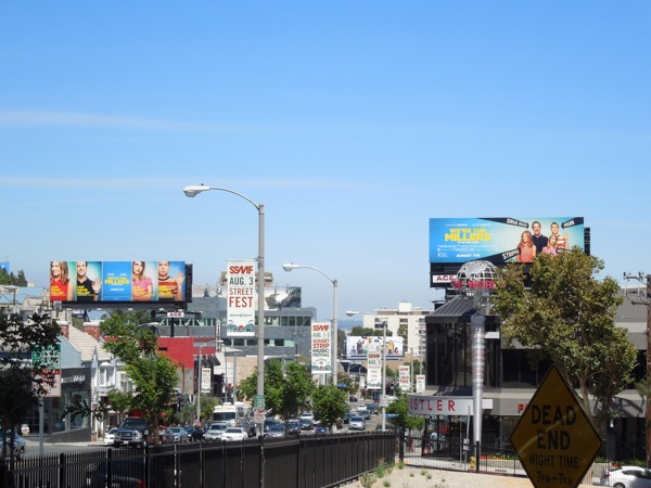 We're The Millers movie billboards