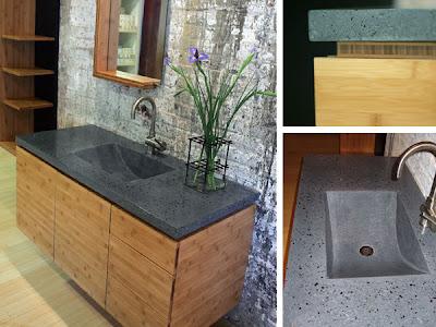 bamboo bathroom vanities | interior 2014