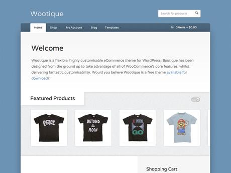 Wootique   Woo Themes : Free Wordpress Theme Download - Design Hub Inc.