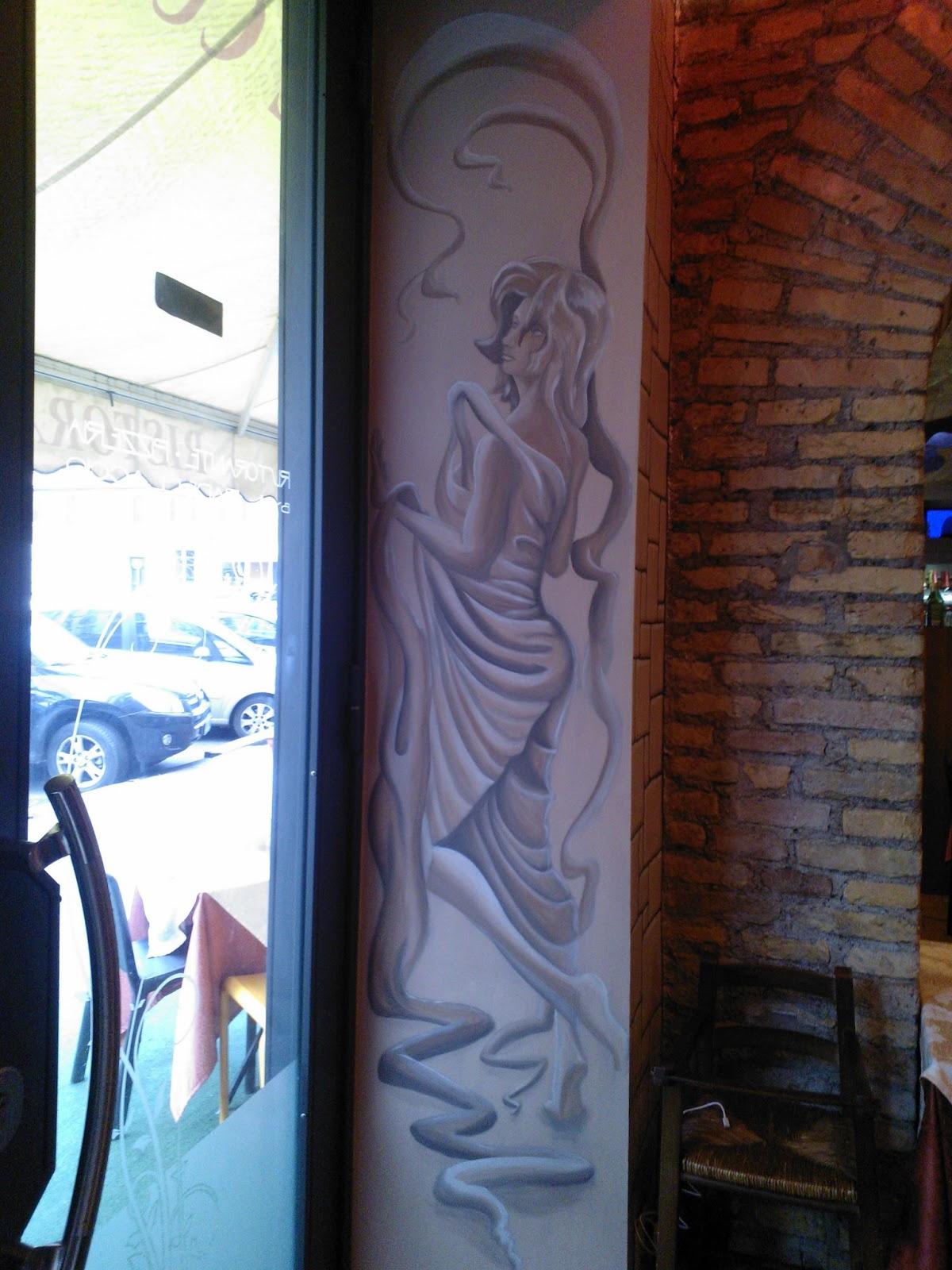 Decorazioni artistiche di francesco ierna decorazioni su pareti e pannelli espositivi - Decorazioni su pareti ...