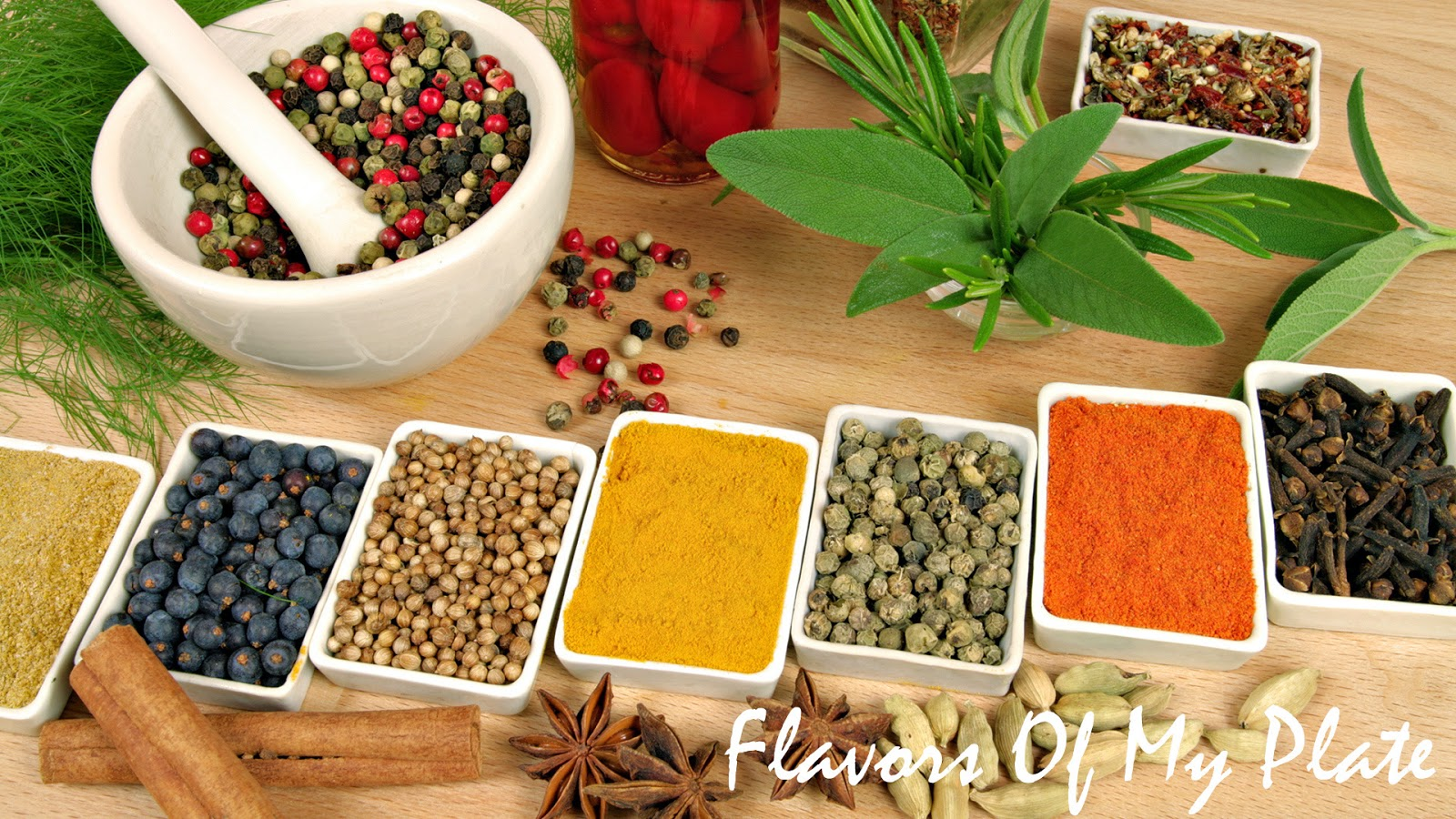 Flavors Of My Plate: Indian Spices.....The Heart Of Any Indian Dish