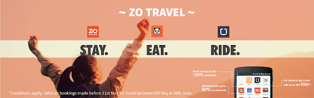 foodpanda is happy to join hands with Uber and ZO Rooms