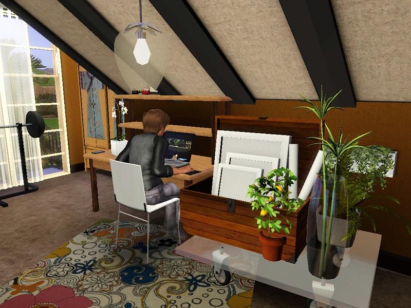 Maisons de Ziva Bureau001
