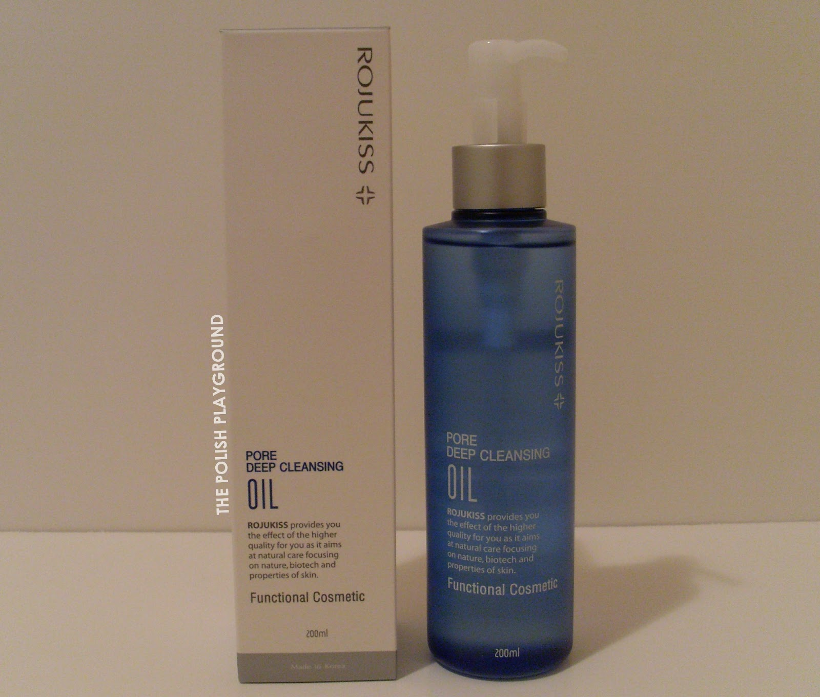 Wishtrend Haul - Rojukiss Pore Deep Cleansing Oil